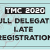 Full Delegate Late Registration