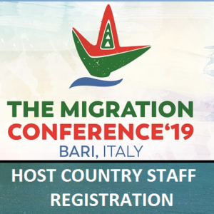 TMC2019 Registration for Host Country Members
