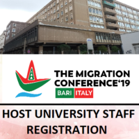 TMC2019 Registration for University of Bari Members